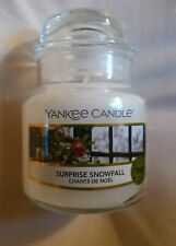 Yankee Candle Surprise Snowfall Small Jar Candle New Genuine