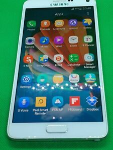 Samsung Galaxy Note 4 SM-N910F Bundle - 32GB - White Unlock  Excellent Condition