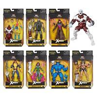 """Hasbro Marvel Legends X-Men 6"""" Action Figures Caliban BAF Complete Set"""