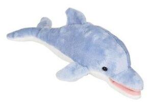 "11"" Dolphin Plush Stuffed Animal Toy"