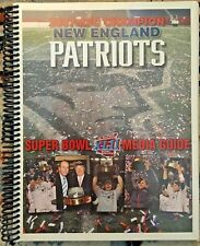 Super Bowl XLII (42) New England Patriots Media Guide Package
