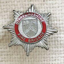 Staffordshire - Fire Brigade cap badge.