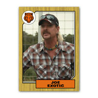 1980s Retro Style Joe Exotic Tiger King Custom Novelty Baseball Trading Card
