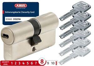 ABUS EC660 Schließzylinder geschützt mit Sicherheitskarte verschieden schließend