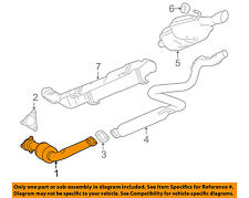 GM OEM-Exhaust System-Catalytic Converter & Pipe 20889270