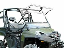 SuperATV Scratch Resistant Flip Windshield for Polaris Ranger Full Size XP 800
