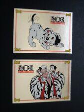 101 DALMATIANS Foil N Fur Set WALT DISNEY CARDS + FREE Mini Mag Set Mint 1996
