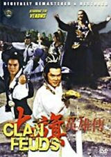 Clan Feuds-Hong Kong Kung Fu Martial Arts Action movie Dvd-30A