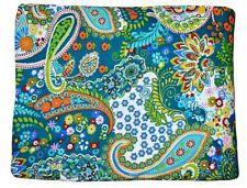 5 Yard Loose Fabric Cotton Paisley Print Indian Natural Sanganeri Print Fabric