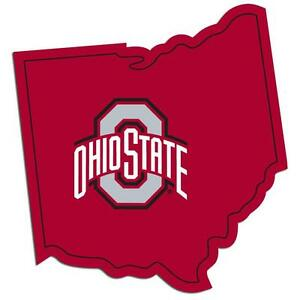 Ohio State Buckeyes NCAA Decal Home State Pride Style