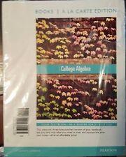 College Algebra Books a la Carte 11th ed.  by Schneider, Lial, Hornsby, Daniels