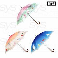 BTS BT21 Official Authentic Goods DTP Automatic Long Umbrella 880mm 3TYPE + EXP