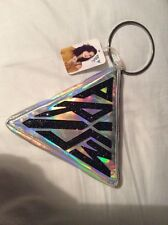 Katy Perry Metallic Silver PRISM Clutch Bag + Let The Light In Zipper EXCLUSIVE