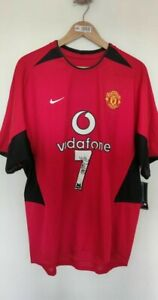 Cristiano Ronaldo Signed 2002 Manchester United - with original tag