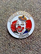 Vintage Advertising George Carden Circus Clown Pin Pinback button