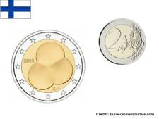 2 Euros Commémorative Finlande 2019 Constitution Finlandaise UNC