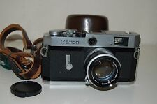 Canon-P Vintage Japanese Rangefinder Camera. Serviced. 708414. UK Sale