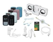 11 Item Accessory Bundle Combo Kit for Sandisk Sansa Fuze+ MP3 Player (SDMX20R)