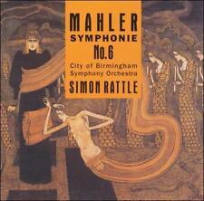 Mahler: Symphony, No. 6, Rattle & Birmingham