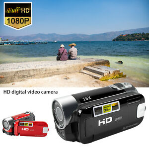 Video Camera Camcorder Digital YouTube Vlogging Camera Recorder 16X Digital Zoom