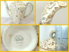 More details for empire england china floral gold chinzware coffee pot great condition