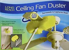Ceiling Fan Duster Cleaner Cleaning Clean Microfiber Unger Brush Ettore