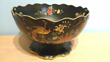 Wiltshaw & Robinson Carlton Cloisonne Ware Pedestal Bowl #522.Reg.373864 (1902).