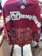 Walt Disney World Christmas Holiday SPIRIT JERSEY Pullover Top Shirt XS