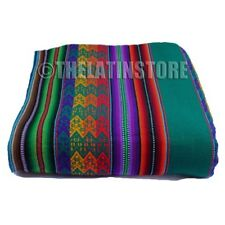 Throw-Peruvian Aguayo ( Manta) Ethnic colorful-Green
