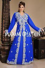 Dubai wedding gown,Royal kaftan fancy abaya jalabiya Arabic khaleeji party 4499