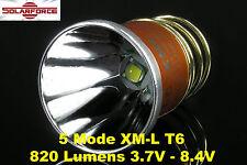 Solarforce XM-L Cree T6 500 Lumens 5 Mode Led Bulb 3.7V-8.4V for Surefire 6P G2