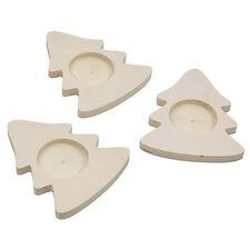 EDUPLAY Teelichthalter Weihnachtsbaum 3er 210090