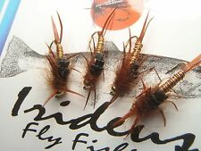 Irideus Timothy's SLO  Rochette Leggy Stonefly Steelhead flies Trout fly fishing