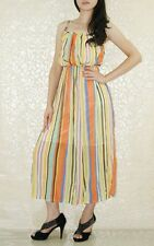Summer Wear Chic Prom Maxi Cocktail Chiffon Dress with Lining UK size 10-12