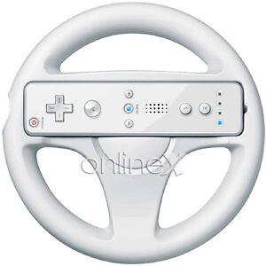 Volante Steering Wheel para Wii Color Blanco, Mario Kart Entrega 48/72H. a0539