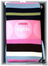 Gymboree CHELSEA GIRL Striped Tights 5 6 7 NWT New BTS