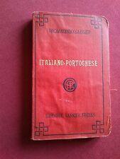 ANTICO VOCABOLARI GARNIER ITALIANO-PORTOGHESE per R. DE MESQUITA