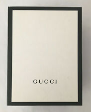Authentic Gucci Empty Black Magnetic Opening Box 10� x 7.5� x 4.25�