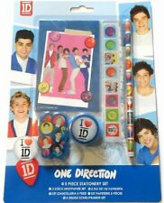 10 xOne Direction 1D Stationery Pencil & Eraser Set Party xmas Bag Fillers Gift