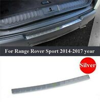 Stainless Steel Rear Bumper Protector Sill/Trim For Range Rover Sport 2014-2017