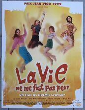 Affiche LA VIE NE ME FAIT PAS PEUR Noémie Lvovsky MAGALI WOCH Molinier 40x60cm *