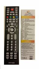 UNIVERSAL REMOTE CONTROL TV UCT 039 LINBOX APOLLO BLOW DIGIB OPTICUM SKYSAT