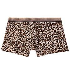 100% Cotton Mens' Comfortable Boxer Trunks Breathable Underwear Lingerie Shorts