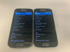Samsung Galaxy S4 Mini SCH-I435 (TWO PHONES) - 16GB - Black Mist (Verizon)