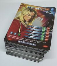 Dr Doctor Who Battles In Time Cards COMPLETE Exterminator Common and Rare Set