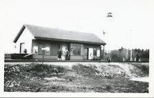 Halifax Nova Scotia Canada * Railroad Train Station  RPPC ca. 1950