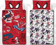 SPIDERMAN HASHTAG CHILDRENS KIDS SINGLE DUVET / QUILT COVER BOYS BEDROOM SET NEW