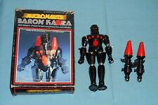 vintage Mego Micronauts BARON KARZA with original box