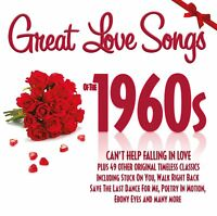 Great Love Songs Of The 1960s 2 CD Set Roy Orbison Everly Brothers Elvis + More