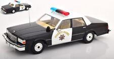 Chevrolet Caprice California Highway Patrol 1:18 Model MODELCARGROUP